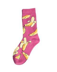 Sokken met bananenprint